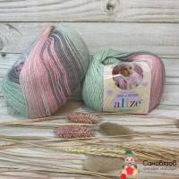 Baby Wool batik
