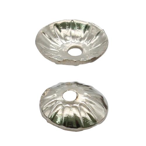 1514835 (СМ-079) Шапочки для бусин серебро за 1 шт
