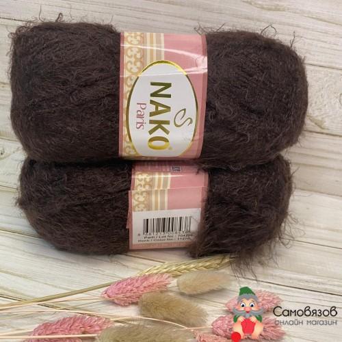 Пряжа 11270 коричневый