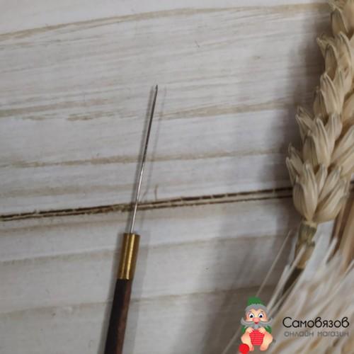 Вышивание EMB06751-B Крючок для вышивания пайетками и бусинами 84мм