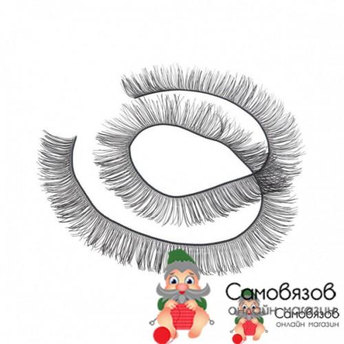 Аксессуары для кукол Реснички, размер 1 шт. 20 x 0,8 см цвет чёрный (цена за 1 шт)