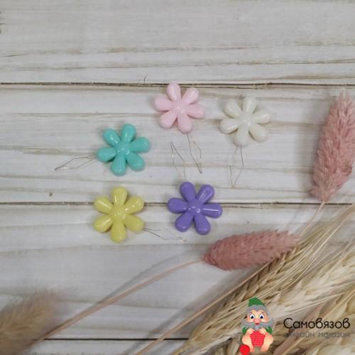 Принадлежности для шитья и рукоделия Нитевдеватели «Цветок», 4,5 x 2 x 04 см 10 шт цвет МИКС