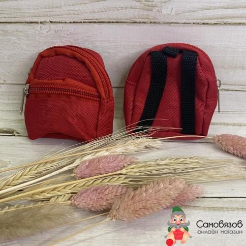Рюкзак для куклы «Спорт», цвет красный