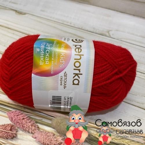 Пряжа 06-Красный