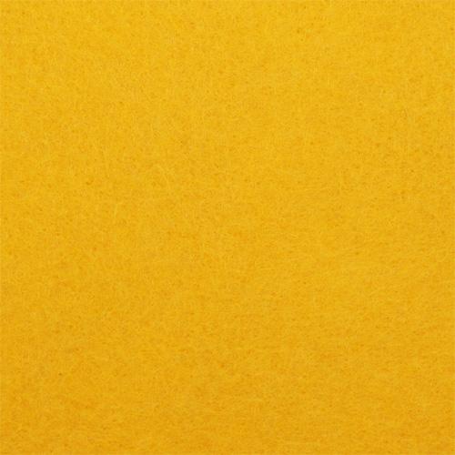 Фетр листовой, 1,0мм, 180 гр, 20х30см, 10 шт/упак (YF 640 желтый)