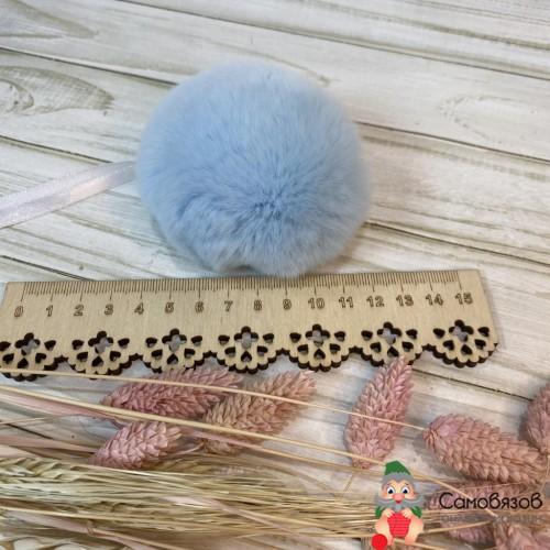 Аксессуары для одежды и обуви Помпон №11 голубой