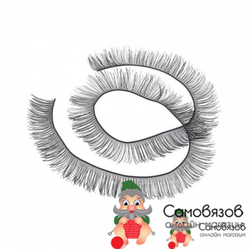 Аксессуары для кукол Реснички, размер шт. 20 x 1 см цвет чёрный (цена за 1 шт)