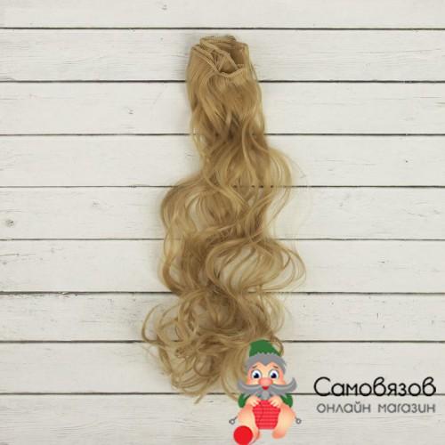 Аксессуары для кукол Волосы - тресс для кукол «Кудри» длина волос: 40 см ширина: 50 см № 24