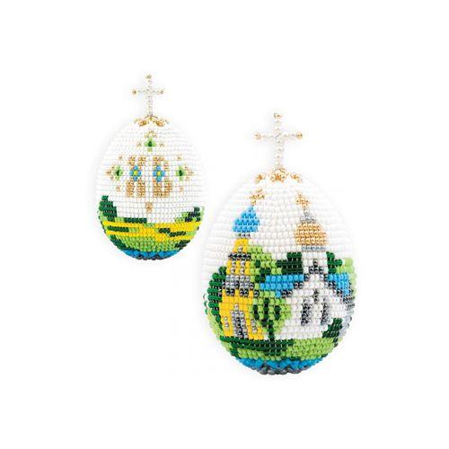 """Набор для бисероплетения В204 Яйцо """"Церквушка"""" 6,5*5см (--, --)"""