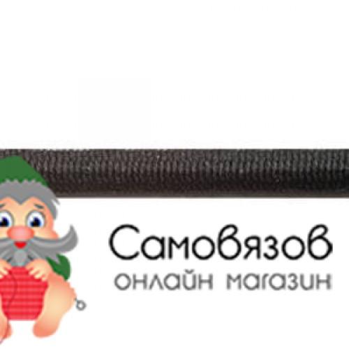 Резинка С1038 Шнур эластичный 2,5мм (черный)