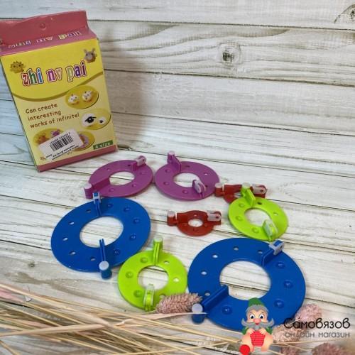 Аксессуары для вязания Набор для изготовления помпонов Zhi Nu Pai 4size
