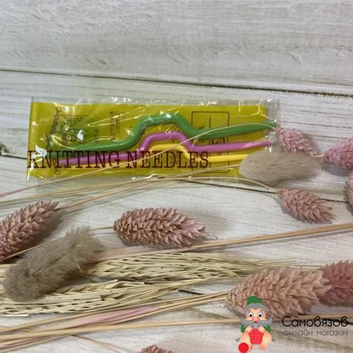 Аксессуары для вязания Спицы для кос цветные