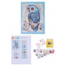 Творчество Алмазная мозаика «Необыкновенная сова» 30x40 см.
