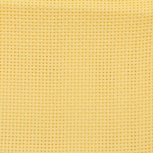 Канва арт.854 (45) (круп.) цветная 50*50см (желтый)
