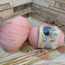 Пряжа 371 светло-розовый
