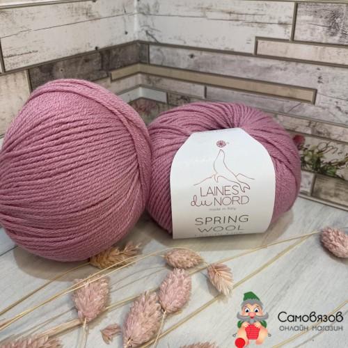 Пряжа 05 пыльно розовый