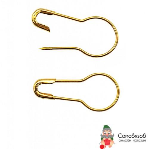 Принадлежности для шитья и рукоделия AC006 Булавки для этикеток, золото. Цена за 1 шт