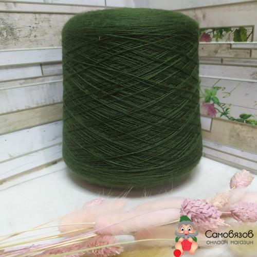 Пряжа 168104 зеленый