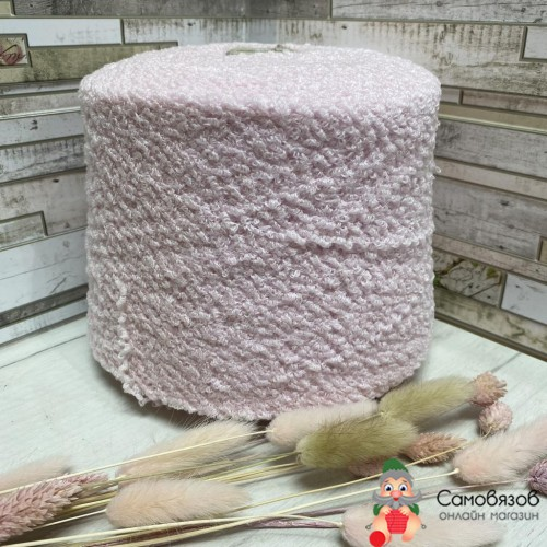Пряжа A0002 розовый