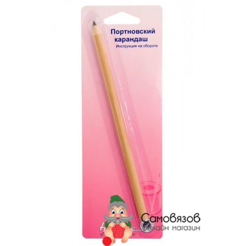 Принадлежности для шитья и рукоделия Карандаш расворяемый в воде красный