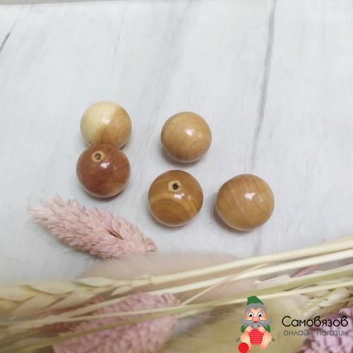 Бусины бусины можжевельник, 20 мм