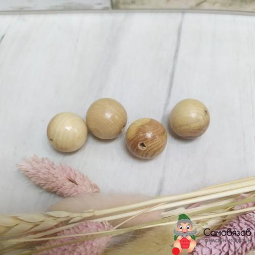 Бусины бусины можжевельник, 23 мм
