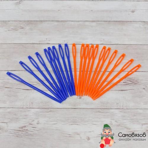 Аксессуары для вязания Игла пластиковая для сшивания вяз.изделий