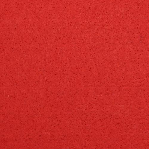 Фетр листовой, 1,0мм, 180 гр, 20х30см, 10 шт/упак (YF 602 красный)