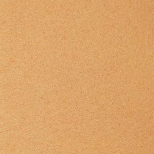 Фетр листовой, 1,0мм, 180 гр, 20х30см, 10 шт/упак (YF 652 персиковый)