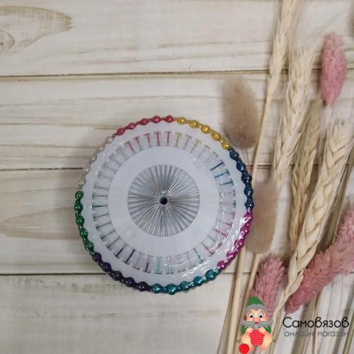 Принадлежности для шитья и рукоделия Булавка портновская 40шт. на диске / круге