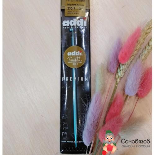 Крючки для вязания Крючок addiDuett алюминий N4.5 15 см
