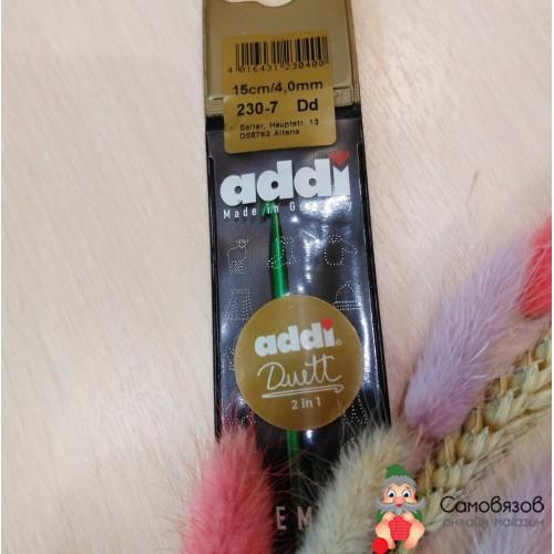Крючки для вязания Крючок addiDuett алюминий N4.0 15 см