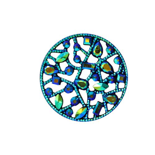 Декоративные элементы CON2521 Украшение 20мм (зеленый перламутр)