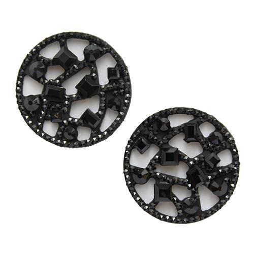 Декоративные элементы CON2521 Украшение 20мм (черный)