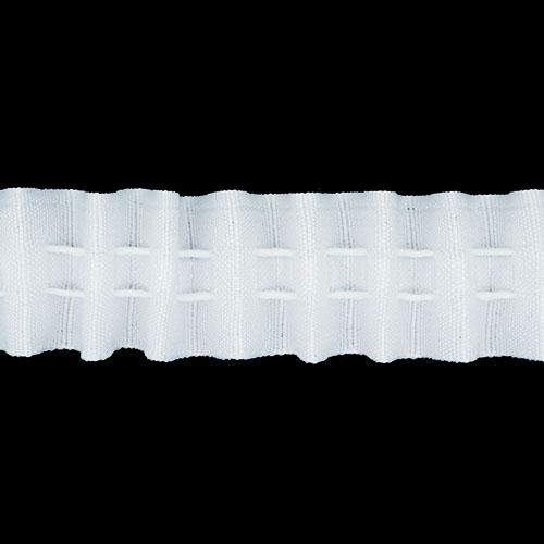 Шторная лента С18 шторная 2,5см *100м. Цена указана за 10 см.