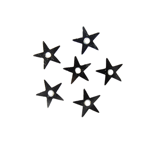 "Пайетки ""звездочки"" 7мм, 10г (1 серебро)"