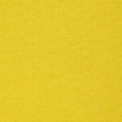 Фетр листовой, 1,0мм, 180 гр, 20х30см, 10 шт/упак (YF 643 лимонный)