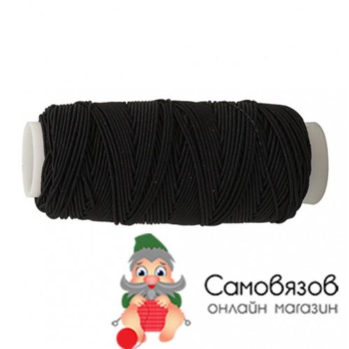 Резинка нитка 0123-5010 черный