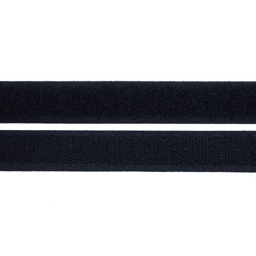 Липучка Лента контактная 25мм (черный) Цена указана за 10 см