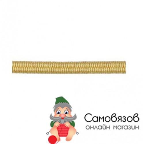 Резинка С838 Шнур эластичный 2мм *30м (желтый)