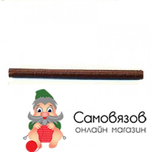 Резинка С838 Шнур эластичный 2мм *30м (коричневый)