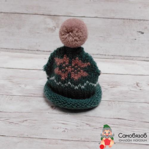 Аксессуары для кукол AR082 Шапочки для игрушек, 6*7,5см (зеленый)