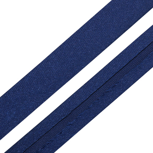 Текстильная галантерея Косая бейка 15мм 0000-1500 (6120/2197 синий) Цена за 10см