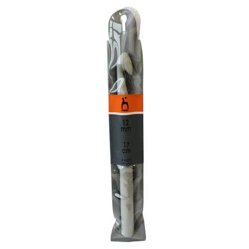 Крючки для вязания 45271 Крючок вязальный 12,00 мм/ 17 см, пластик