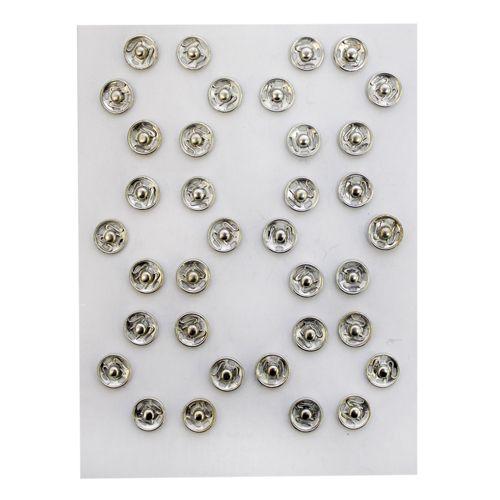 Кнопки пришивные Кнопка пришивная PBM-0 мет. 8,2мм 0300-5100 никель (за 6 шт)