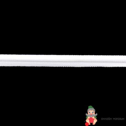 Текстильная галантерея 63 Лента кант 9мм (1 белый) Цена указана за 10 см