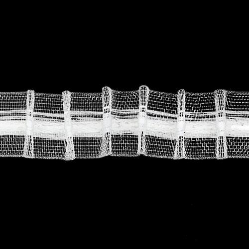 Аксессуары для штор Лента тканая шторная 20мм. (Арг) Цена указана за 10 см