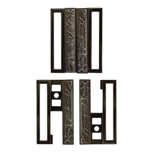 Фурнитура ГНУ14147 Пряжка 50 мм (черный никель)