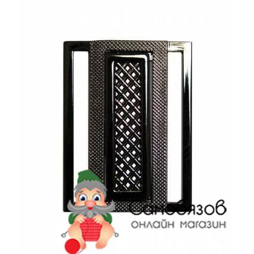 Фурнитура НР5145 Пряжка 40мм (никель черный)