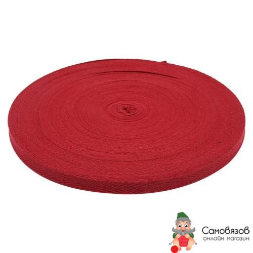 Текстильная галантерея 3AR417 Лента киперная цветная 1см (бордовый) Цена указана за 10 см